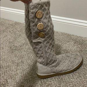 UGG classic cardi sweater boots